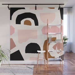 Paper Pieces 1 Wall Mural
