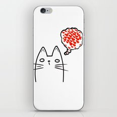 Loving Thoughts iPhone & iPod Skin