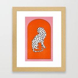 Tibetian leopard no 02.  Framed Art Print