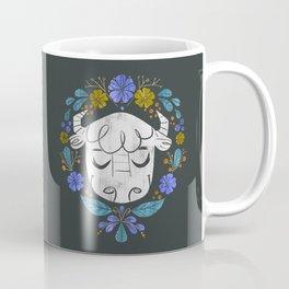 Midwest Bison - Vintage Flora Series Coffee Mug