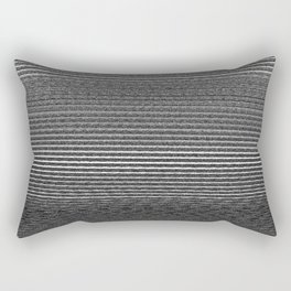 shadow Faintly faint line included static streaks and blotches color gray Rectangular Pillow