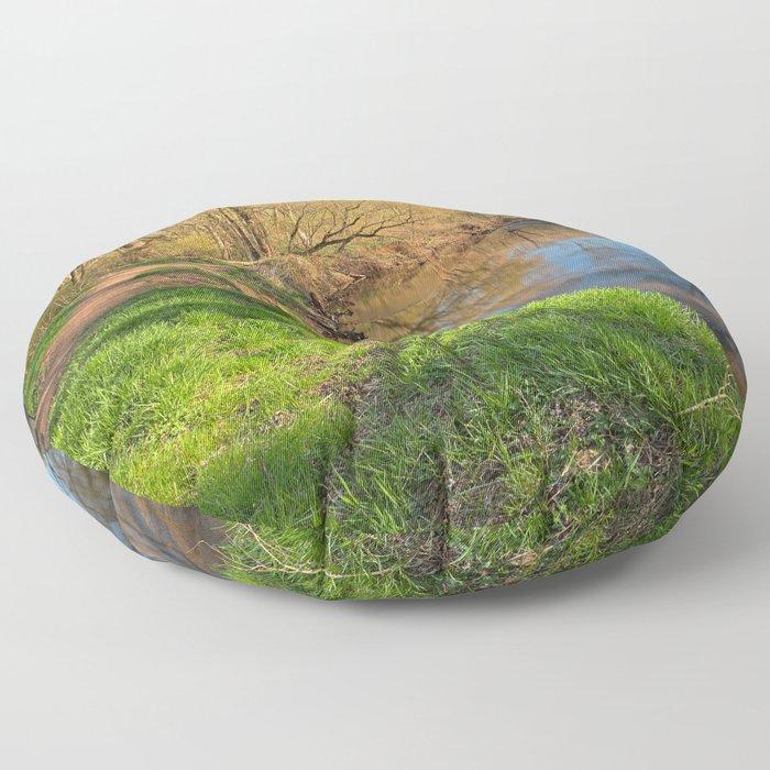 Rock Creek Spring Floor Pillow