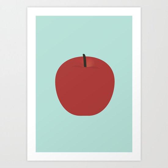 Apple 21 Art Print