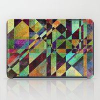 the fault iPad Cases featuring Fault Lines by Klara Acel