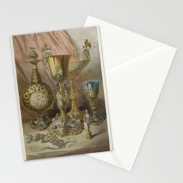 Objects in silver from the Industrial arts of the Nineteenth Century (1851-1853) by Sir Matthew Digb Stationery Cards
