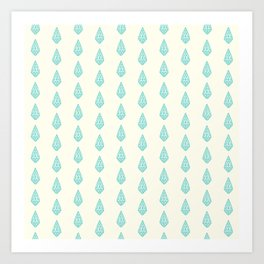 Happy Briolette Gems Art Print