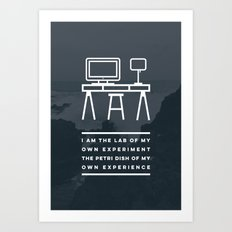 I AM THE LAB - Kealakekua Bay Art Print