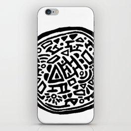 Circle Doodle iPhone Skin