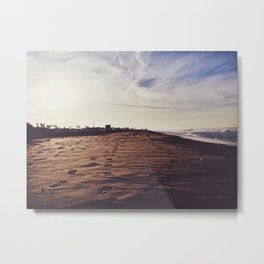 Mornings with Venice Metal Print