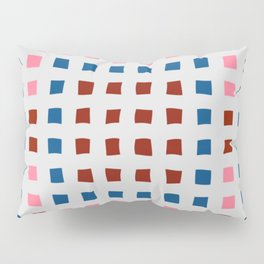 Color Blocks for Fun Pillow Sham