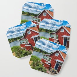 Swedish national summer house Coaster