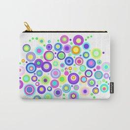 Polka Dot Flower Garden Carry-All Pouch
