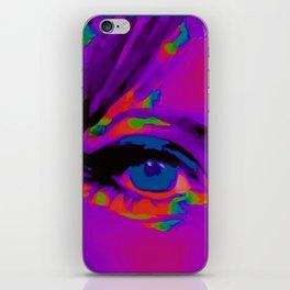 Debbie Purple iPhone Skin