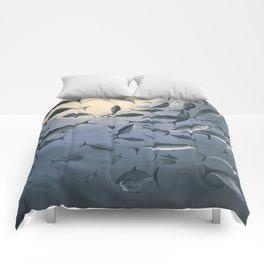 School of Fish 2 Comforters