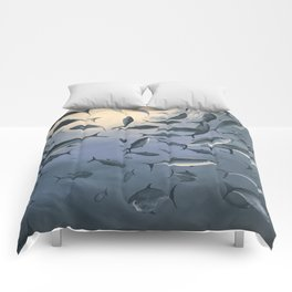 School of Fish 2 Comforters