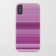 pink sunday iPhone X Slim Case