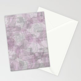 Maverick Geometric Flowers Stationery Cards
