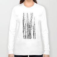 birch Long Sleeve T-shirts featuring Birch Winter by Gréta Thórsdóttir