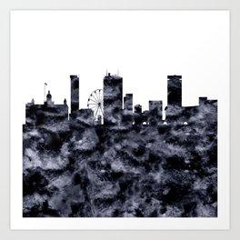 Birmingham Skyline Great Britain Art Print