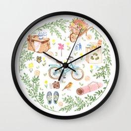 Eco city style Wall Clock