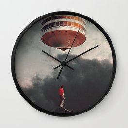 They have Always been Here Wall Clock