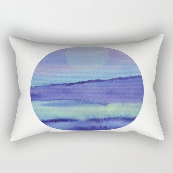Watercolor S. 03 Rectangular Pillow