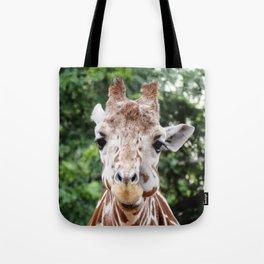 Silly Giraffe Tote Bag