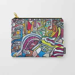Study For A Face Carry-All Pouch