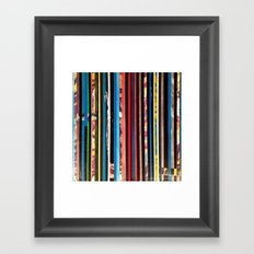 STRIPES 8 Framed Art Print
