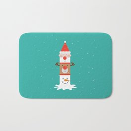 Day 11/25 Advent - Holiday Totem Bath Mat