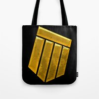 shield Tote Bags featuring Shield by Emma Harckham