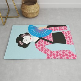 Geisha #2 Rug