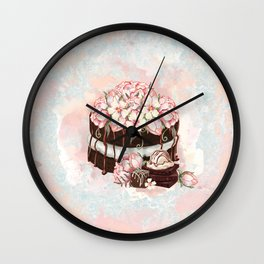 Chocolate Cake Wall Clock