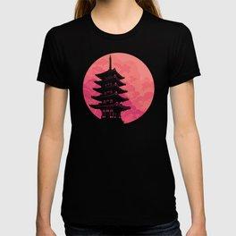 Pagoda Sunset 2 T-shirt