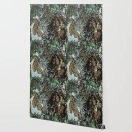 Weathered Iron rustic decor Wallpaper