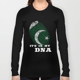 Pakistan - ItS In My Dna Long Sleeve T-shirt