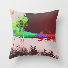 Morning Transition Throw Pillow