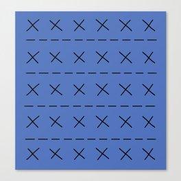 BoJack Blue Jumper Canvas Print