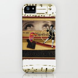 Charleston Hooper with the Gorgeous Eyes (and a kingfisher) iPhone Case