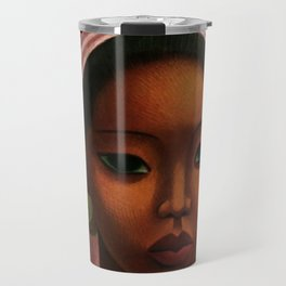 Harlem Renaissance - African American Masterpiece - A Woman from Bali by Miguel Covarrubias Travel Mug