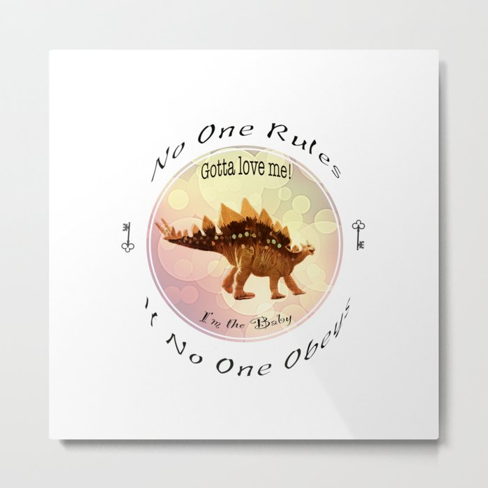 No One Rules If No One Obeys Metal Print