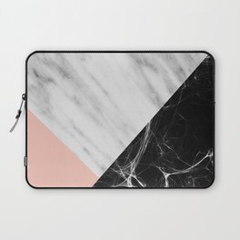 Marble Collage Laptop Sleeve