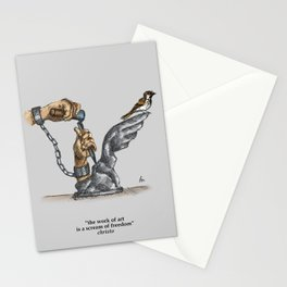 freedom x inkterpretations Stationery Cards