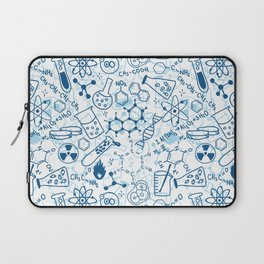 School chemical pattern #2 Laptop Sleeve