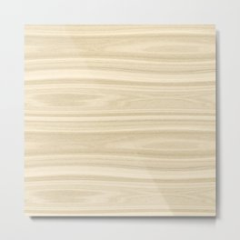 Maple Wood Texture Metal Print