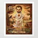 Sweet Bearded Baby Jesus by jeffdrewpictures