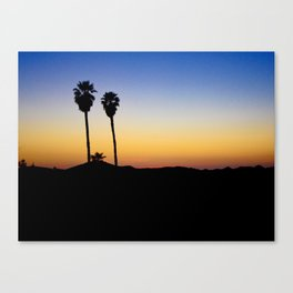 Hopped off the plane at LAX Canvas Print