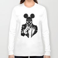 mickey Long Sleeve T-shirts featuring Mickey by Spyck