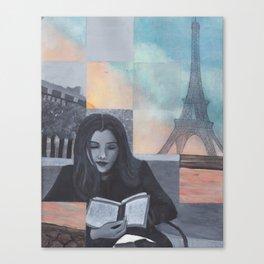 A Trip to Paris Canvas Print