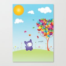 Le Kitteh Canvas Print